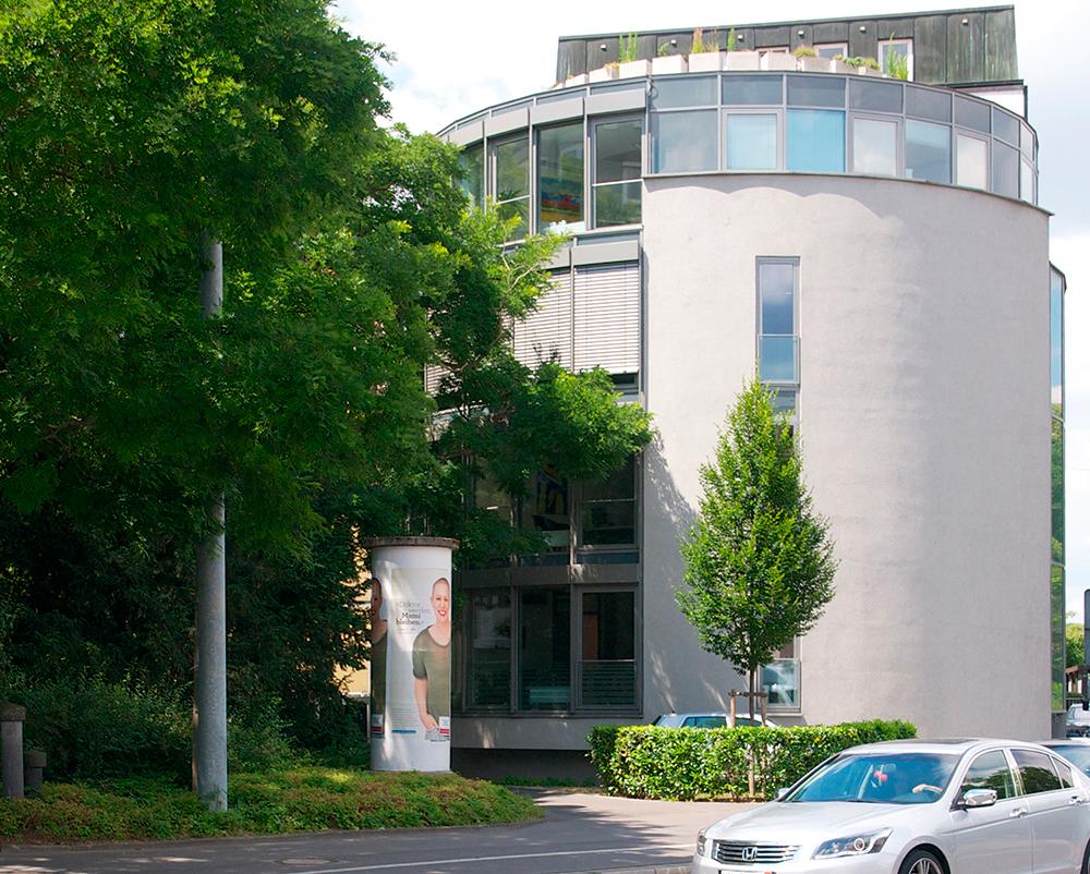 Gebäude der bitbone AG in Würzburg