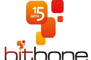 15 Jahre bitbone Logo