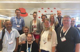 bitbone mit der GROUPLINK auf der Red Hat EMEA Partner Conference 2019