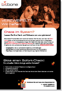 bitbone Healthcheck-Flyer zum Download
